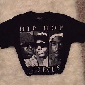 Vintage Hip Hop Crop Top